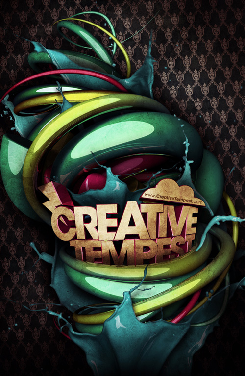 Steve Goodin's Creative Tempest Poster