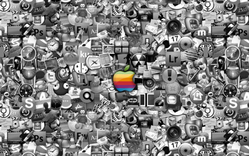 apple wallpaper. high res apple wallpaper.