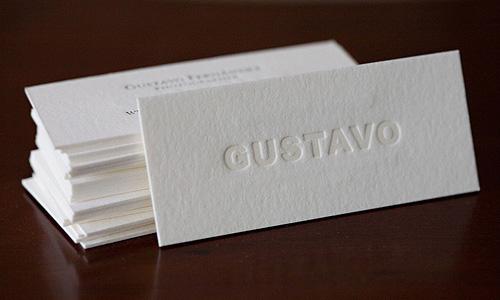 40 simple and elegant business card designs designrfix gustavo fernandez colourmoves