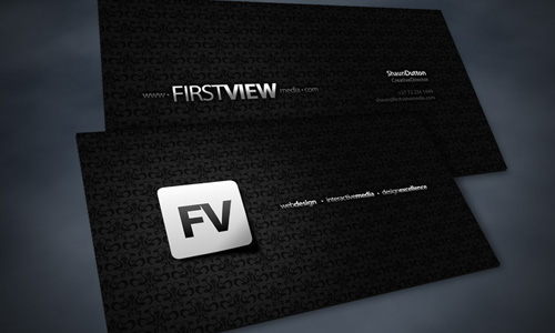 Firstview Business Cards