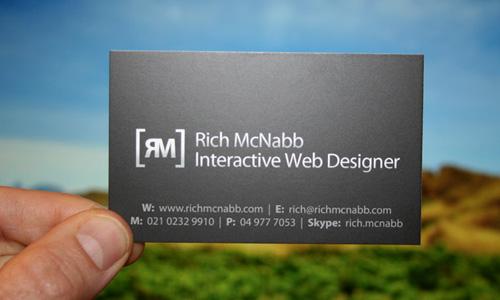 Rich McNabb - Interactive Web Designer