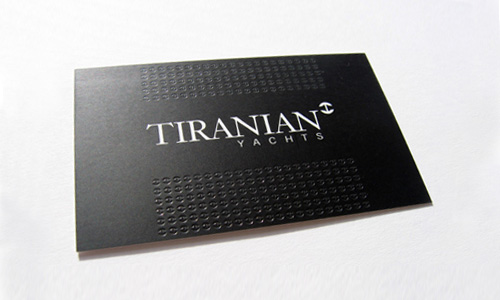 40 simple and elegant business card designs designrfix sa business cards tiranian yachts reheart Images