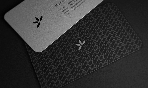 Robinsson Cravents business cards