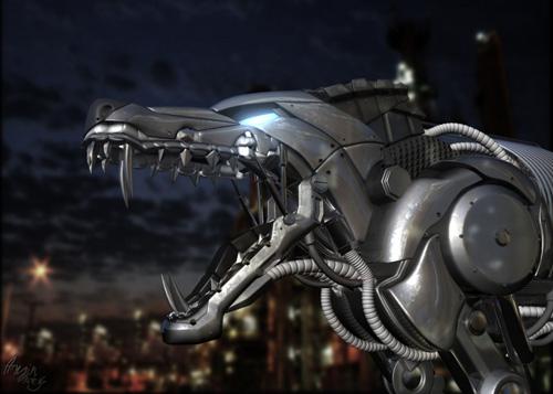 RoboDog by Amin Nadery