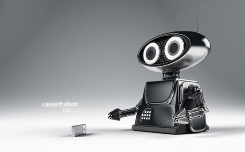 Cassetto Bot by Mike Volz