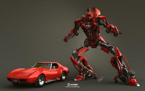 Autobot by Tamás Tóthfalussy