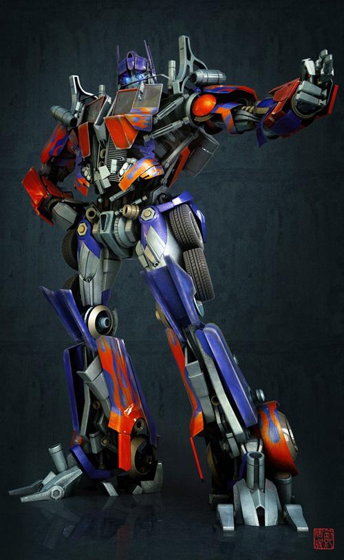 Optimus Prime - 3d Artist: Kevin Bao