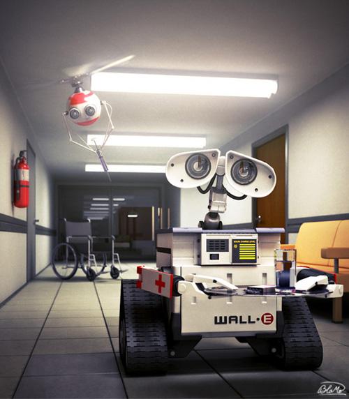 Wall-e - 3d Artist: Haralds Bukshs