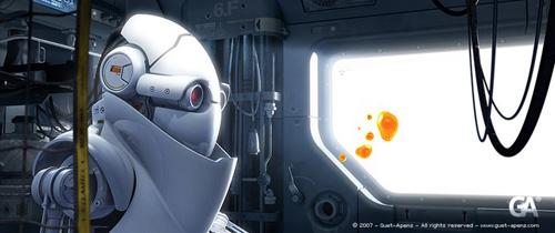 Robot Gone Alone, Guet-Apens - Animation Studios