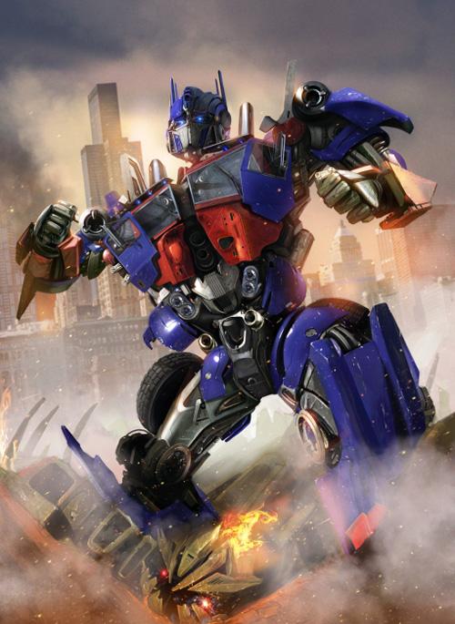 Optimus Prime - 3d Artist: Adonihs