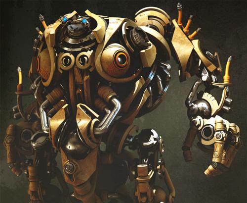 Mechanical Venus 2 - 3d Artist: Hodong La
