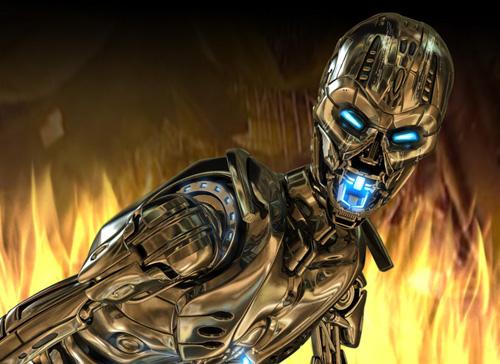 Terminator T-X - 3d Artist: Vasiliy Drozdov