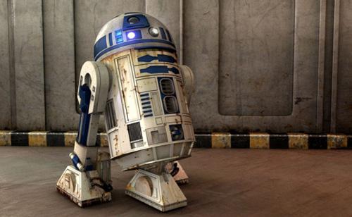 R2 D2 - 3d Artist: Marco Antonio Delgado