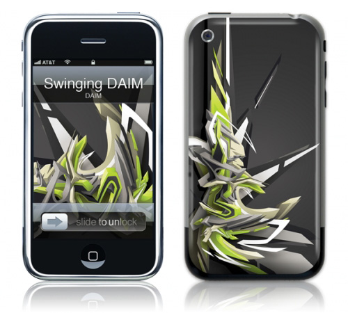 Swinging DAIM - Skin for your iPhone 3G - Created by DAIM