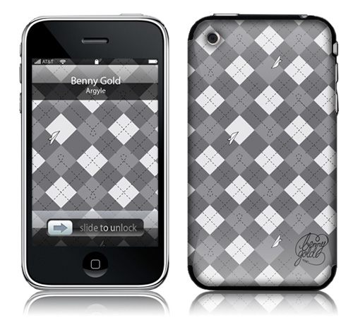 Argyle - Skin for your iPhone 3G - Created by Benny Gold