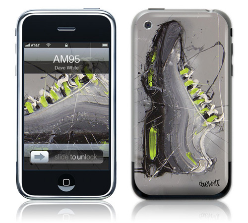 AM 95 Neon - Skin for your iPhone 3G - Created by Dave White