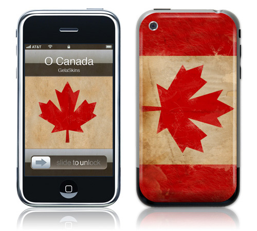 O Canada - Skin for your iPhone 3G