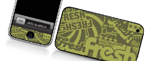 Fresh - Skin for your iPhone 3G - Created by Cey Adams