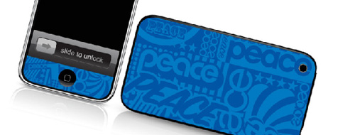 Peace - Skin for your iPhone 3G - Created by Cey Adams