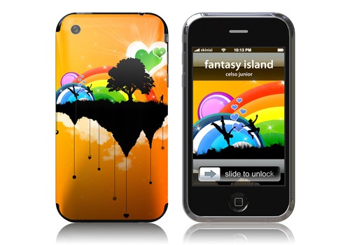 Fantasy Island - Skin for your iPhone 3G - Created by Celso Junior
