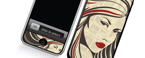Shady - Skin for your iPhone 3G - Created by Mike Klay