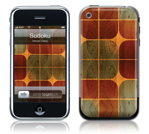 Sudoku - Skin for your iPhone 3G - Created by Simon Oxley