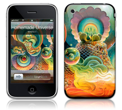 Homemade Universe - Skin for your iPhone 3G - Created by MARS-1