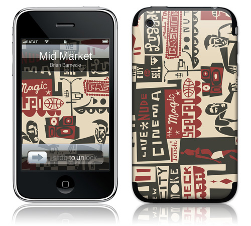Mid Market - Skin for your iPhone 3G - Created by Brian Barneclo