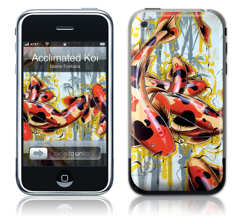 Acclimated Koi - Skin for your iPhone 3G - Created by Blaine Fontana