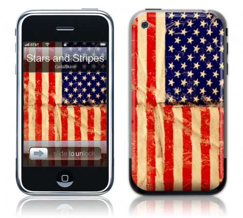 Stars and Stripes - Skin for your iPhone 3G