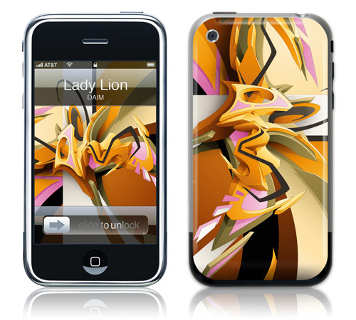 Lady Lion - Skin for your iPhone 3G - Created by DAIM
