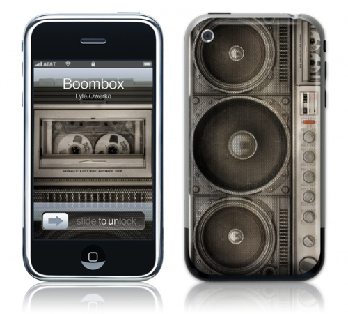 Boombox - Skin for your iPhone 3G - Created by Lyle Owerko
