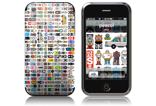 Peecol - Skin for your iPhone 3G - Created by eBoy