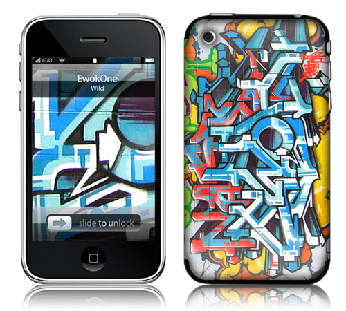 EWOKONE - Skin for your iPhone 3G - Created by Wild