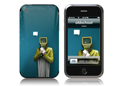 Oldschool - Skin for your iPhone 3G - Created by Moon