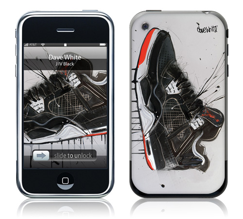 JIV - Black - Skin for your iPhone 3G - Created by Dave White