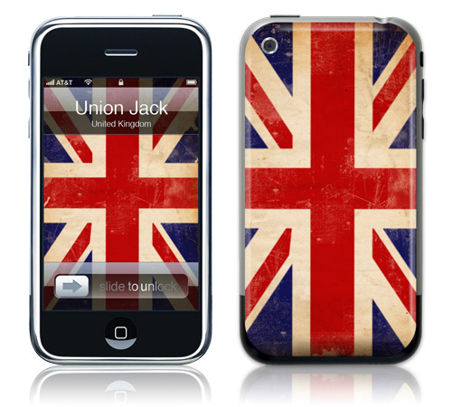 Union Jack - Skin for your iPhone 3G