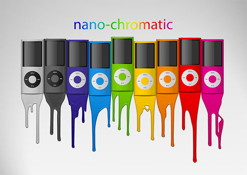 iPod nano-chromatic