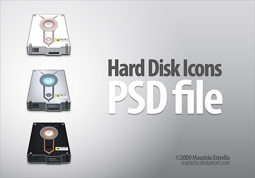 Hard Disk Icons