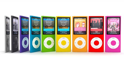 Highly detailed 3d models of the Apple iPod Nano 4th Generation
