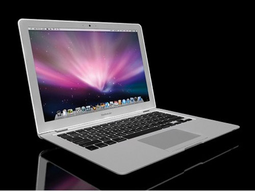 Highly detailed 3d model of the Apple MacBook Air