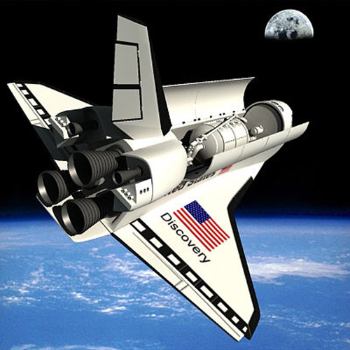 discovery space shuttle model - photo #26