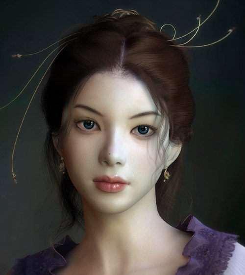 Digital Art: 60+ Stunning Realistic CG Portraits