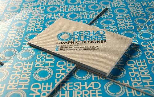 Reshad Hurree Business Card