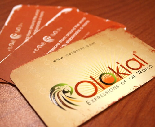 COLOKIAL BUSINESS CARDS