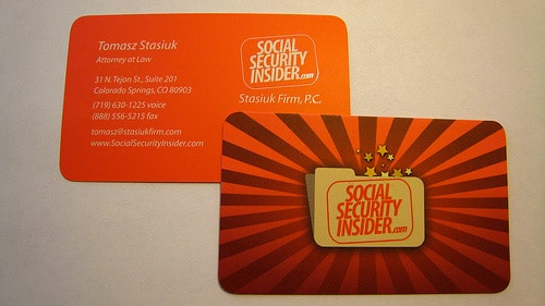 Social Security Insider Business Card 4