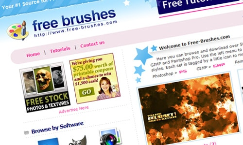 free-brushes.com