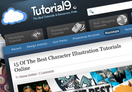 15 Of The Best Character Illustration Tutorials Online
