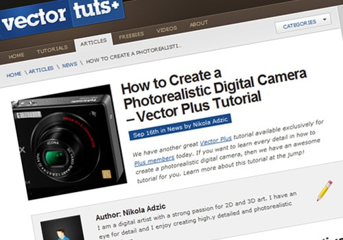 How to Create a Photorealistic Digital Camera