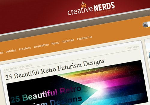 25 Beautiful Retro Futurism Designs
